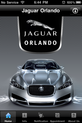 Exceptional Jaguar Orlando Iphone App