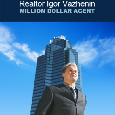 Real-Estate Agent Igor Vazhenin